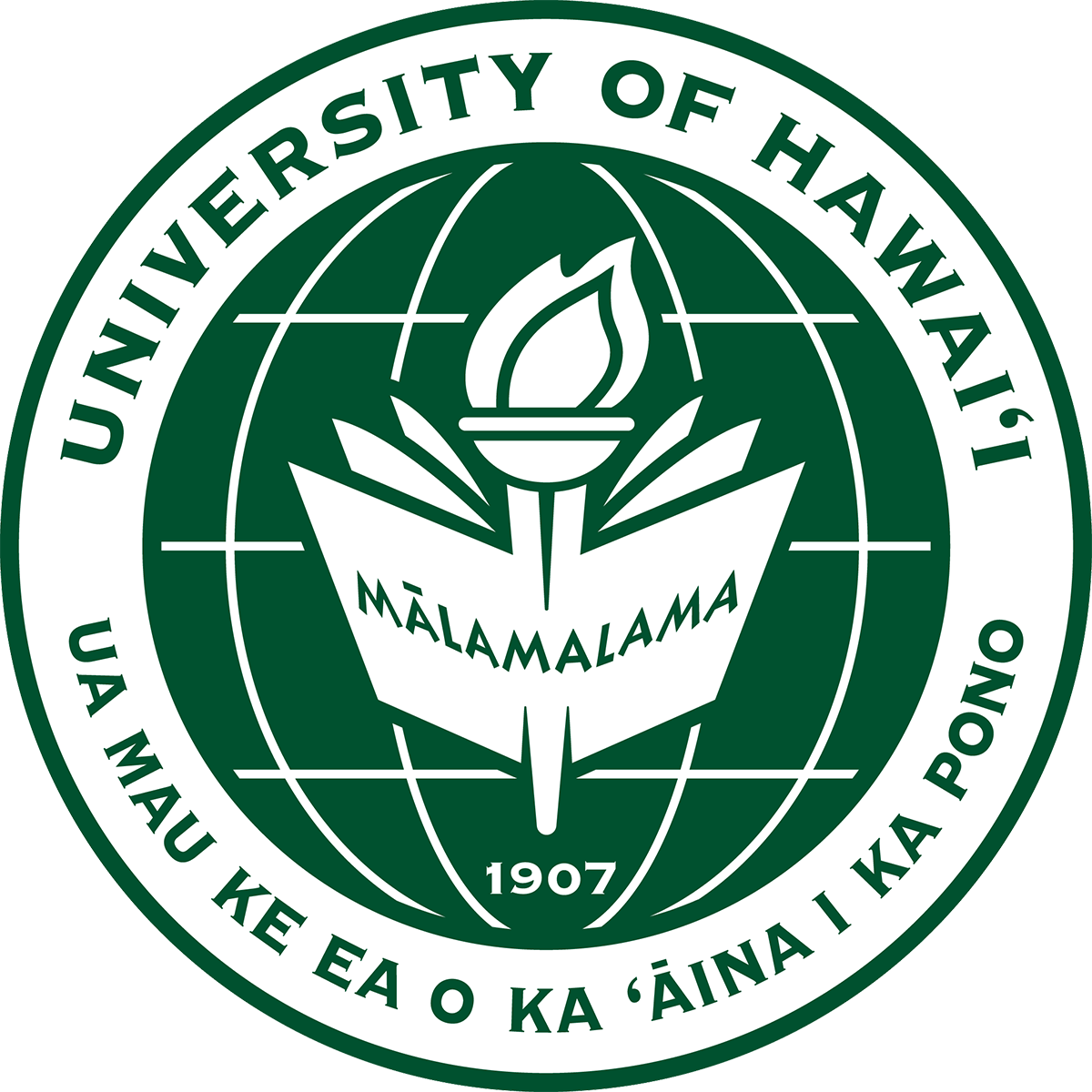 Image result for university of hawaii seal